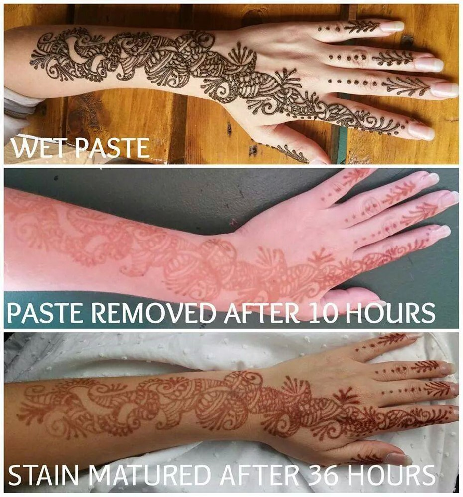 Henna Aftercare